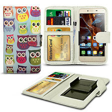 For Acer Liquid Glow E330 - Clip On Design PU Leather Wallet Case Cover