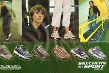 Publicité 2000 (double page)  SKECHERS SPORT basket footwear sport collection