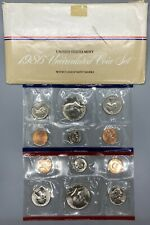 Lot of 4 Uncirculated US Coin Mint Sets- P & D - years 1986, 1987, 1989, 1990