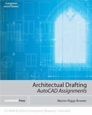 Architectural Drafting Assignments Using AutoCAD