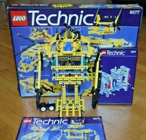 SET LEGO 8277 TECHNIC GIANT MODEL - COMPLETO 100% - RARITA' ANNO 1997