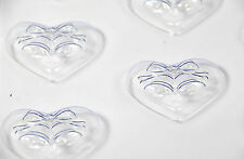 Wedding Favour Soap/Chocolate Bells on Heart Mould 8 Cavity M144 FREE P&P