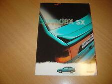 DEPLIANT Seat Cordoba SX de 1996