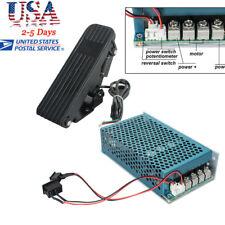10-50V Reversible DC  Motor Speed Controller PWM Control Soft Start +Pedal