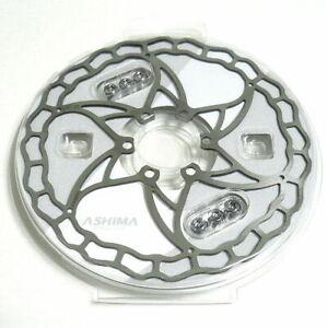 ASHIMA Ai2 Lightest Brake Rotor 140mm/64g, 160mm/73g, 180mm/104g, Silver