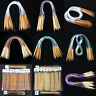 New Double Pointed Knitting Needles Carbonized Bamboo Circular Needles Knit Tool