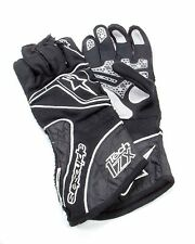 Alpinestars Tech 1-ZX Gloves 3550315182M Size Medium Black/Silver/White