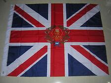 British Empire Flag 1st Battalion 71st Regiment of Foot Colours Ensign 120X120cm