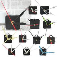 DIY Movimiento con Agujas Cuarzo Reloj de Pared Plástico Metal Mecanismo X 1