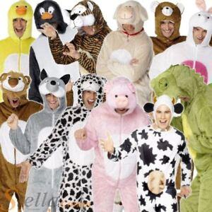 Adult Animal Fancy Dress Costume Zoo Farm Book Week Unisex Mens Ladies Outfit