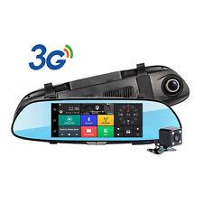 """Vehicle 7"""" 1080P Car DVR Camera Video Recorder Dash Cam GPS G-Sensor Dual Lens"""