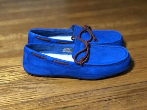 UGG Chester Capra Loafer Slippers ' Royal Blue ' Size 9 - 1009521
