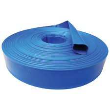 """1.5"""" x 10' Agricultural Grade Pvc Lay Flat Hose for Water Discharge or Backwash"""