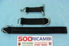 FIAT 500 F/L/R EPOCA KIT CINGHIE TIRANTE SCHIENALE + FERMO RUOTA + CINGHIA CRICK