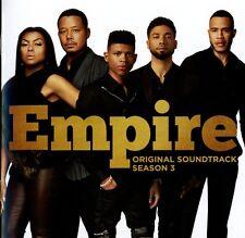 EMPIRE: ORIGINAL SOUNDTRACK, SEASON 3 (YAZZ,SERAYAH,JUSSIE SMOLLETT,...) CD NEUF