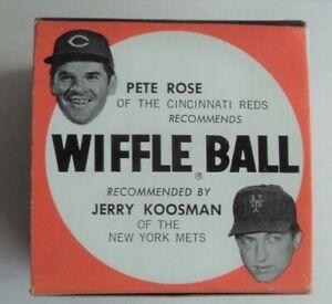 1970's Wiffle Ball Box Reds Rose Mets Koosman -