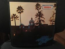 EAGLES HOTEL CALIFORNIA LP 1976 ASYLUM 7E-1084 WITH INNER & TRI FOLD POSTER