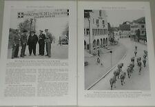 1948 magazine article about Liechtenstein, people, history, postage stamps etc