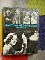 MOVIE BOOK THE FILMS OF BETTE DAVIS FULLY ILLUSTRATED 192 PAGES B/W