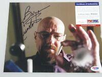 BRYAN CRANSTON Breaking Bad Hand Signed 8'x10' Photo + PSA DNA