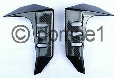 Kawasaki Z1000 carbon fiber radiator covers 2003-2006 fairings protectors 1 pair