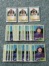 Lamarr Hoyt Baseball Card Mixed Lot of approx 130 cards