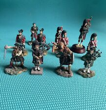 Sculptures Uk Scottish Soldiers Collection, One is Piper Craft, Great Condition