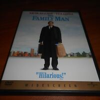 The Family Man (DVD, Widescreen 2001) Nicolas Cage Tea Leoni Used