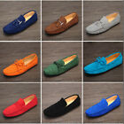 3 Style Vogue  Leather Slip On buckle Loafers Men's Driving moccasin car shoes