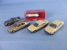 HERPA lot de 5 voitures 1/87 Ho pour décor réseau train électrique ou diorama