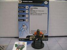 Star Wars Miniatures Universe Ponda Baba with card 24/60