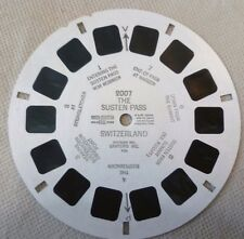 Vintage Viewmaster - Sawyer's Single Reel 2007 Susten Pass Switzerland - C1951