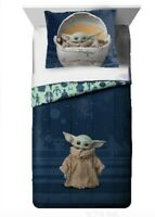 Star Wars: The Mandalorian 'The Child' Baby Yoda 2 Piece Twin/Full Comforter