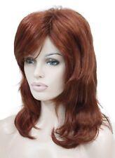 Fashion Layered Medium Long Women Natural Daily Everyday hair Wig #EF09