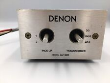 Denon AU-320 Step up Transformer MC moving Coil Cartridge From JP  [DHL / Fedex]
