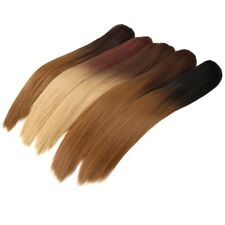 """22"""" Synthetic Ombre Claw Clip Ponytail Hair Extensions Thick Straight Pony Tail"""