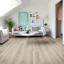 Pale Oak Colour Vinyl Plank Flooring Click Together Water Resistant SAMPLE 99p