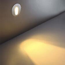 3W LED Wall Lamp Recessed Light Fixture Corner Spotlight Stairs Step Aisle Hotel