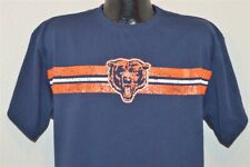 CHICAGO BEARS MITCHELL & NESS BLUE ORANGE VINTAGE COLLECTION t-shirt FOOTBALL L