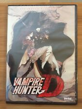 Vampire Hunter D remastered special edition NEW anime on DVD by Sentai Filmworks
