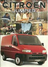 CATALOGUE PUBLICITAIRE CITROËN JUMPER 1994