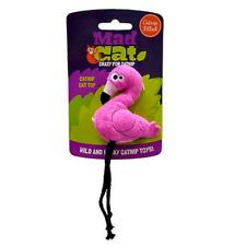 Mad Cat Crazy for Catnip Flingin Flamingo Cat Toy - 3 Pk
