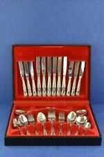 Viners Vintage Silver Plated Cutlery Set In Presentation Box, 44-Piece