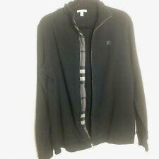 Burberry Brit Size Large Black Full Zip Sweater