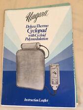 Vintage Super Deluxe Niagara Heated Cyclopad