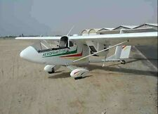 Aeroprakt A-26 Vulcan Light Twin Ukraine Airplane Wood Model Large