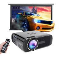 1080P HD Multimedia Portable Projector 3D LED TV Box Video Home Theater Nimble