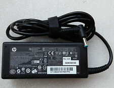 Genuine HP Stream 13-C100NA Charger Blue Tip 65W Original Adapter + Power Cord