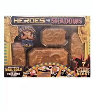 Treasure X Heroes vs Shadows with Guaranteed Real Gold Dipped Treasure Inside