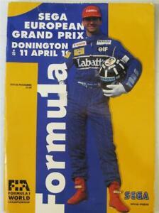 DONINGTON PARK 11 Apr 1993 European Grand Prix LF Official Programme